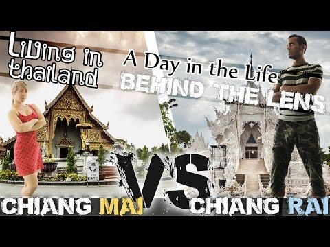 CHIANG MAI vs CHIANG RAI - LIVING IN THAILAND VLOG (ADITL BTL EP36)