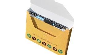 Подарочная упаковка «Добробук»(Собрал упаковку, положил внутрь тетрадь Добробук, и шикарный подарок готов! Подробнее о тетрадях здесь..., 2015-12-24T12:57:44.000Z)