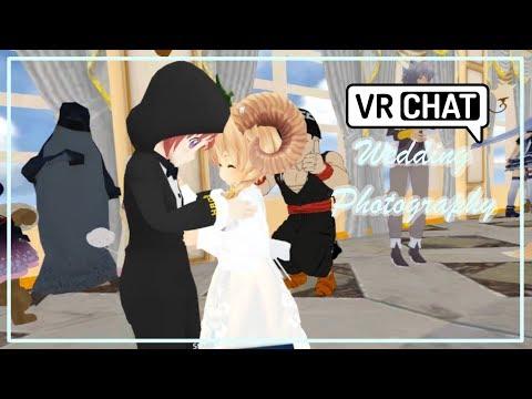 [VRChat] Wedding Photography in VR