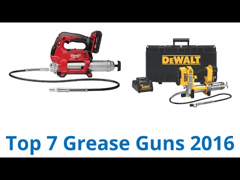 7 Best Grease Guns 2016