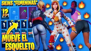 "*NEW* THE Skins More ""Attractive"" OF FORTNITE With The Dance *MOVE THE ESQUELETO*"