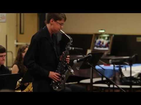 Twality Middle School Jazz Band Concert 11/21/14