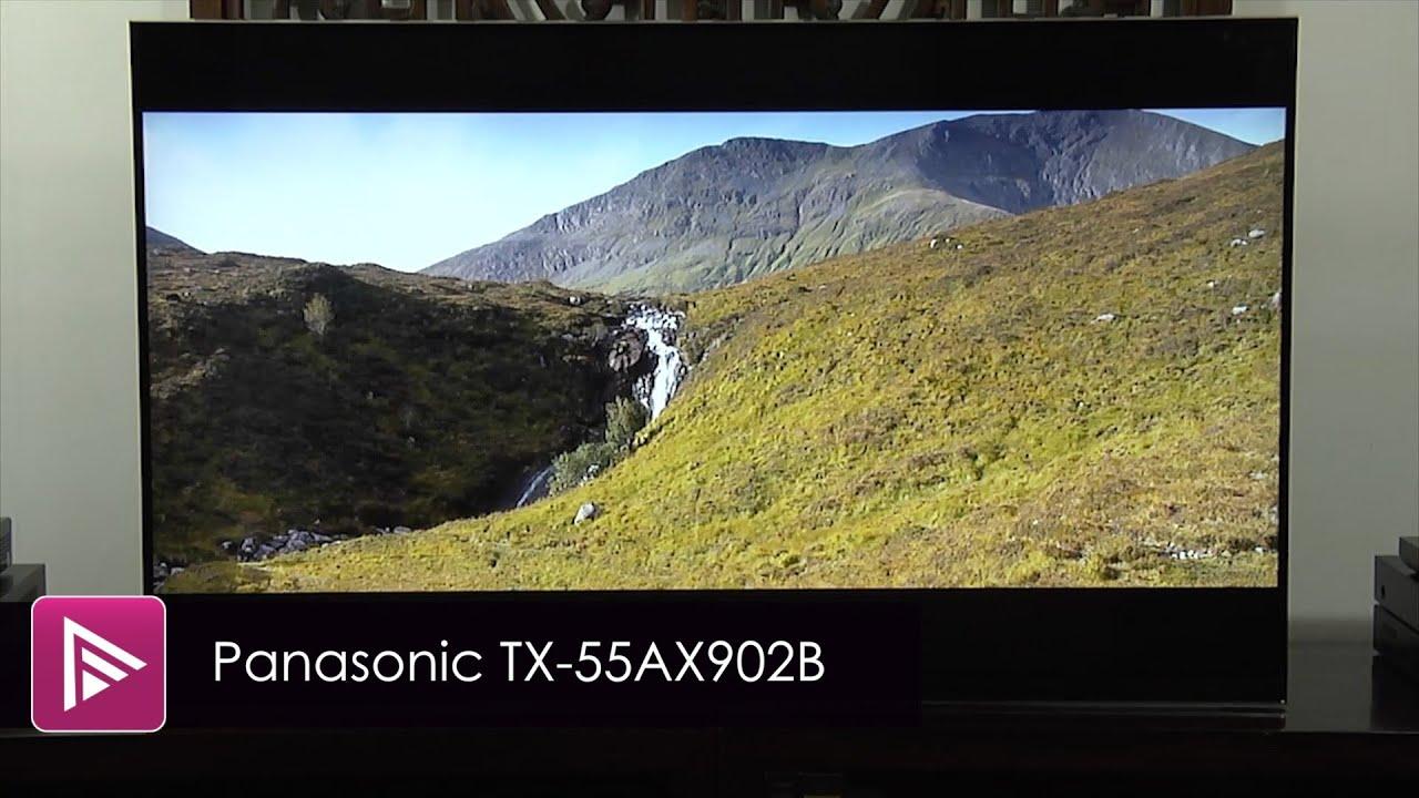 panasonic tx 55ax902b 4k tv review youtube. Black Bedroom Furniture Sets. Home Design Ideas