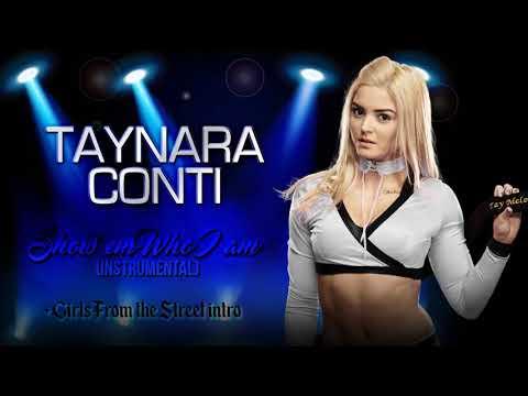 2017: Taynara Conti 1st WWE Theme -