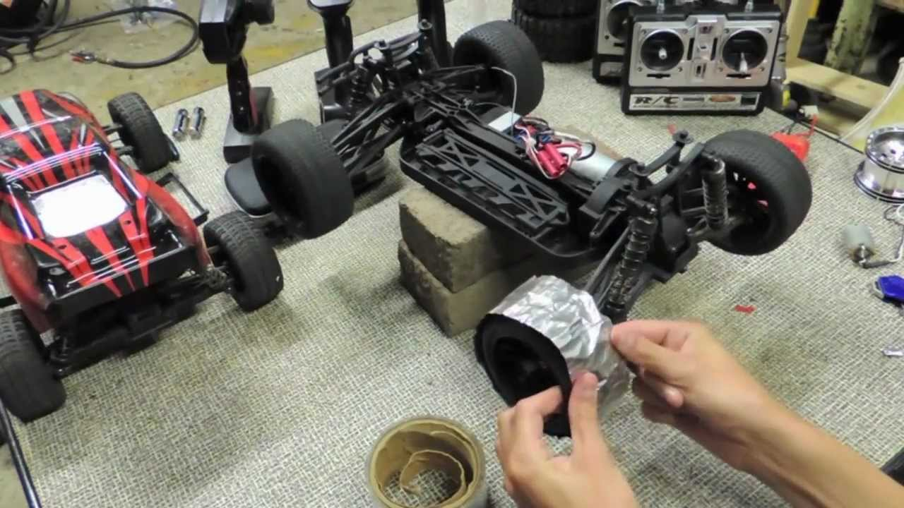 How To Make Rc Drift Tires Youtube