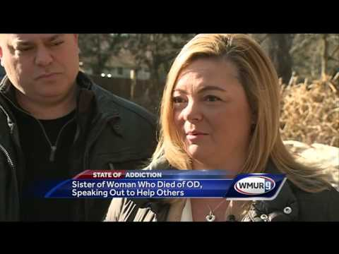 Woman shares story of sister's overdose death