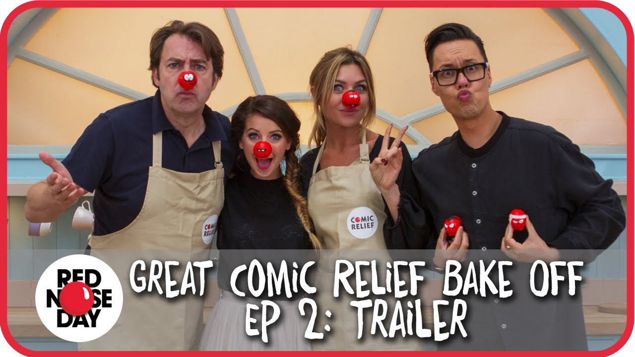 2015 comic relief bake off