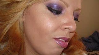 Makeup Tutorial Sexy Purple Look for Pinkiecharm
