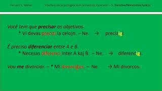 Interferoj de la portugala dum lernado de Esperanto (2)