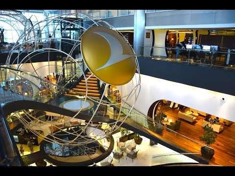 Turkish Airlines  Lounge Istanbul ~ Istanbul Ataturk Airport