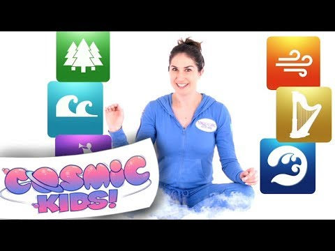 Bedtime Yoga Set for Cosmic Kids vol4
