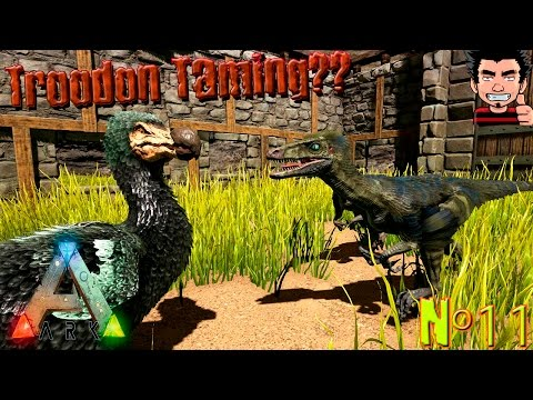 ARK Survival Evolved Troodon Taming imposible ? o bug ? Taming fail troodon gameplay español