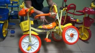 Детский трёхколёсный велосипед Jaguar ms-745(Видео обзор детского трёхколёсного велосипеда Jaguar ms-745 http://sportseason.ru/store/ms-0745., 2012-03-17T05:59:21.000Z)