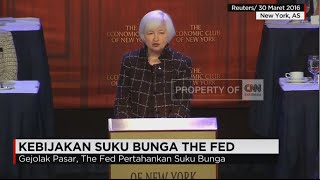 The Fed Pertahankan Suku Bunga di level 0,25-0,5%