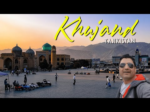 Exploring Khujand Tajikistan || A Beautiful City on Silk Road
