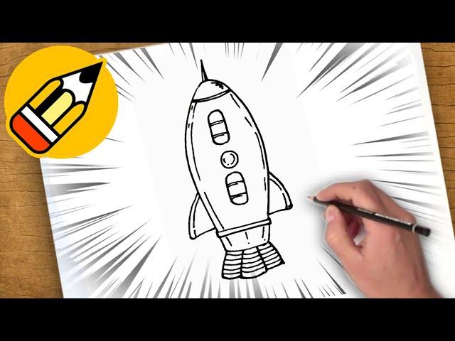 كيفية رسم سفينة الفضاء Youtube