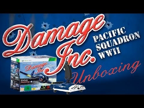 Damage Inc. Pacific Squadron WWII Collector´s Edition X360 - Unboxing Animado