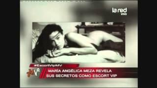 """Ex escort María Angélica Meza: """"Lo mejor que me ha regalad..."""
