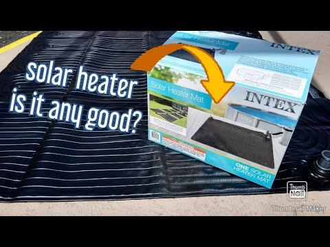Intex Solar Pool Heater is it Any Good?