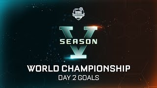 RLCS Goals Day 2 - World Championship