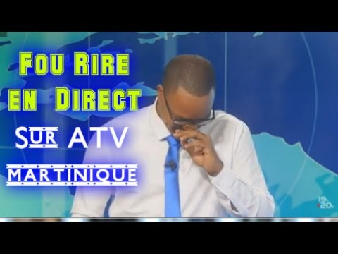 📡FOU RIRE: en direct sur ATV Martinique.!📡