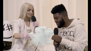 This Khalid and Poppy interview at the AMA's is magical