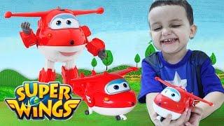 Super Wings Jett Avião Change' Em Up Brinquedo em Português Toys 출동슈퍼윙스 신제품 장난감