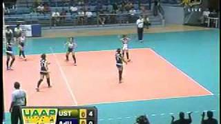 UST vs ADU Set 1-A (UAAP Season 73 Women's Volleyball Round 1)