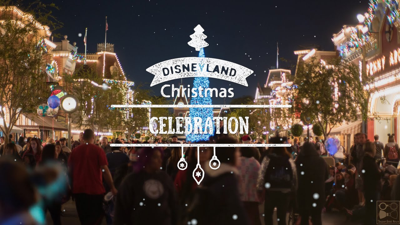 disneyland time lapse christmas edition 4k youtube - Disneyland Christmas Time