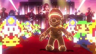 Super Mario Odyssey 1st Anniversary Celebration - All Pixel Luigi & Captain Toad Locations