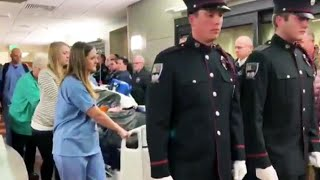 Colorado Firefighter Given Escort Before Organ Donation