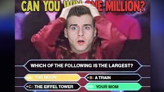 "Can You Beat ""Who Wants To Be A Millionaire""?"