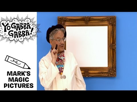Mark's Magic Picture - CRAYON - Yo Gabba Gabba!