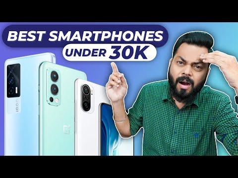 Top 5 Best Smartphones Under ₹30000 Budget ⚡ August 2021