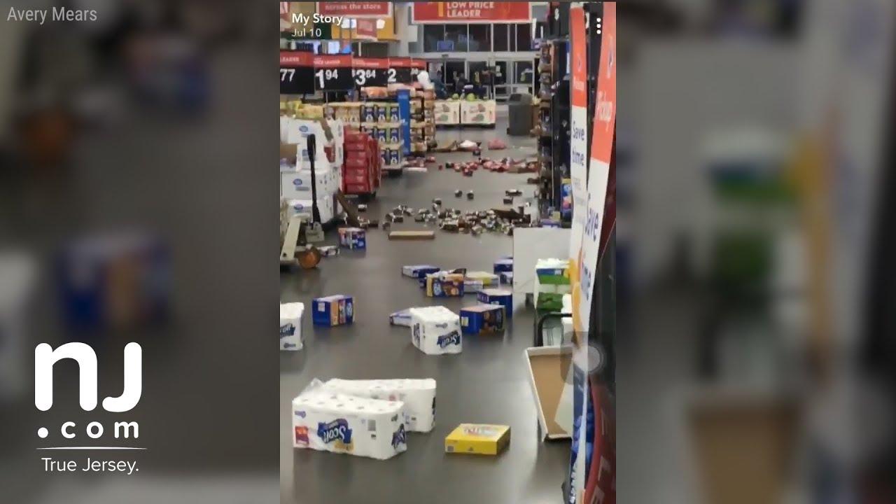 Disgruntled Walmart employee destroys Vineland store