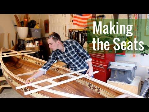 Making the Seats (Ep 15 - Cedar Strip Canoe Build)