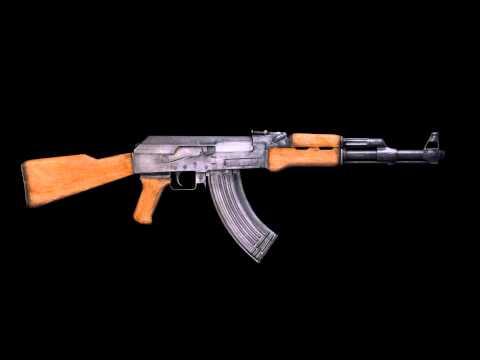 FREE SOUND EFFECT - AK- 47 Gun Shot