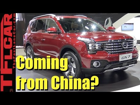 2018 GAC Trumpchi GS7 320T AWD Newcomer from China