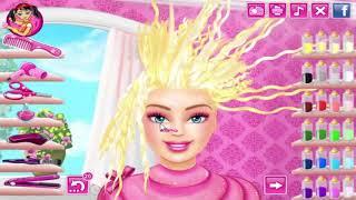 Стильные причёски Барби