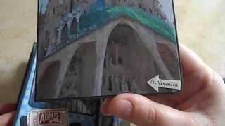 Envelope Mini Album Kathy Orta style -- K&Company Hopscotch -- Barcelona Trip