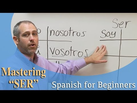 """Mastering The Verb """"SER"""" 