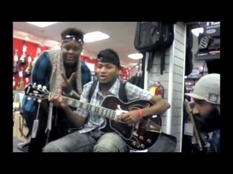Don Haiti at Atlanta Sam Ash Music Store Jam Session 09/20/11