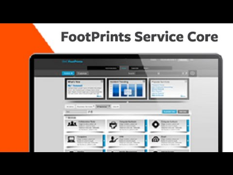 BMC FootPrints Service Core YouTube - Footprints help desk software