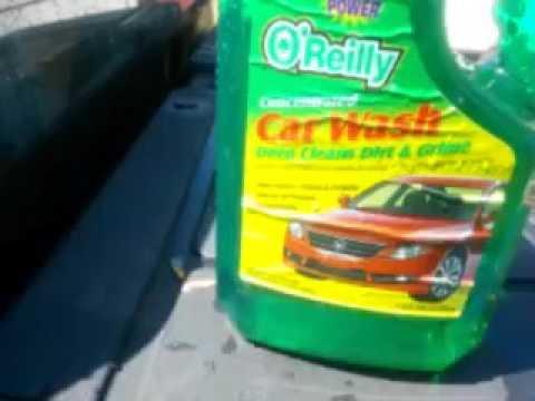 O'reilly car wash demo review