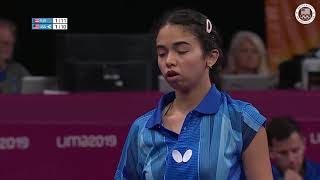 Yue Wu Gets The Win Over Puerto Rico   Pan American Games Lima 2019