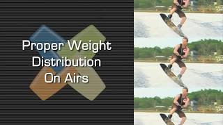 Proper Weight Distribution On Airs