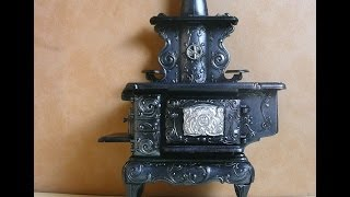 Dollhouse Miniature Stove Kit Part 3