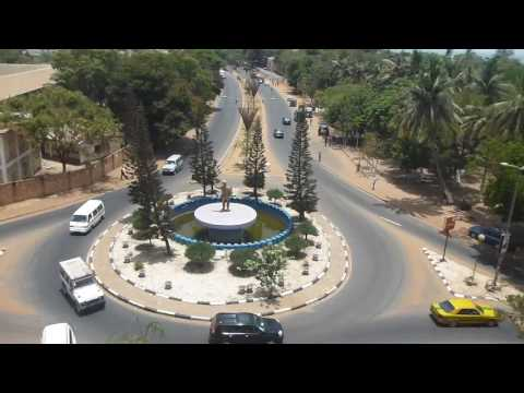 Arc 22 in Banjul View Part 2   Gambia   May 2016