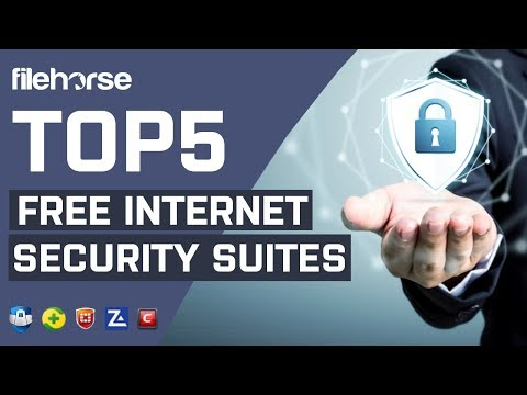 Top 5 Free Internet Security Suites for Windows