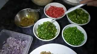 Pakistani Desi Food Mix Vegetable Kachori Recipe Part-1 (aamna's Kitchen)